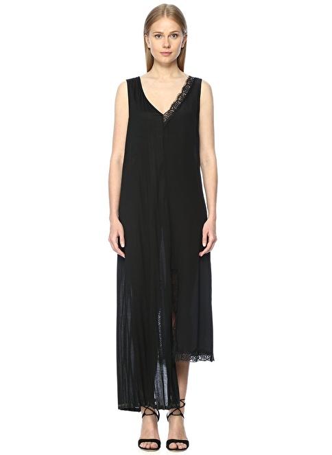 Twin Set Elbise Siyah